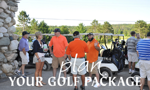Hawks Eye Golf Bellaire Northern Michigan Book Golf Package